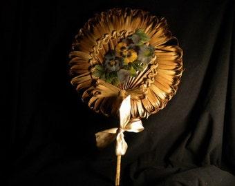 Vintage Palm Fan (FFs5034)