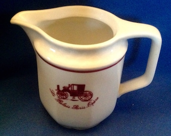 Le Relais Paris-Opera cream jug