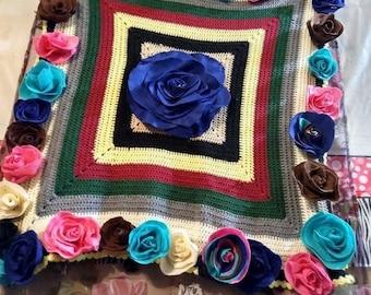 Sale....3 Ft./ 37 Roses handmade cover