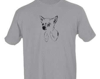 Chihuahua double deuce - tshirt
