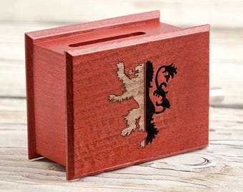 Red Wedding music The Rains of Castamere Lion of House Lannister - Game of Thrones   paper strip