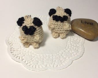 Keychain Amigurumi Dog Toy Crochet Stuffed