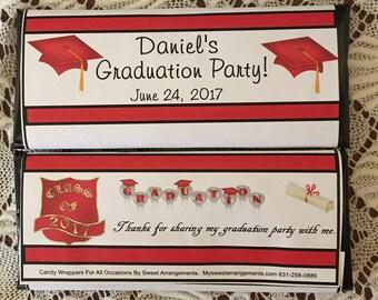 2017 Graduation Candy Wrapper, Graduation Candy Wrapper, graduation wrapper, candy wrapper, candy wrapper graduation, graduation