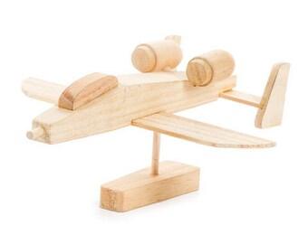 Bomber wood model airplane kit
