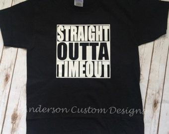 Straight Outta Timeout Toddler shirt