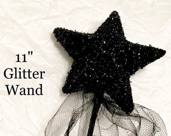 Black Star Wand, Party, Photo Props