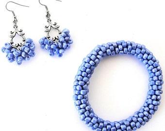 Glazed Blue Set
