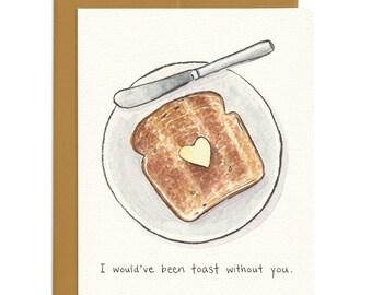 Thankful Toast Card