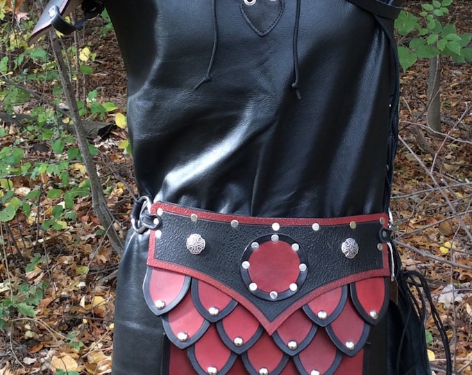 Scale war skirt armor