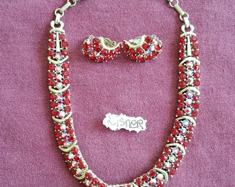 Lisner Necklace & Earrings