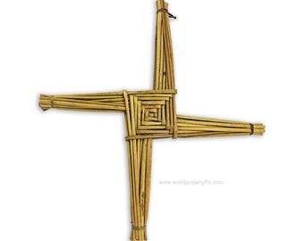 "Saint Brigid's Cross | St Brigid's Cross |  20"" x 20"" 