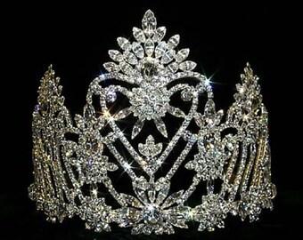Style # 12539 Navette Crowned Heart Tiara