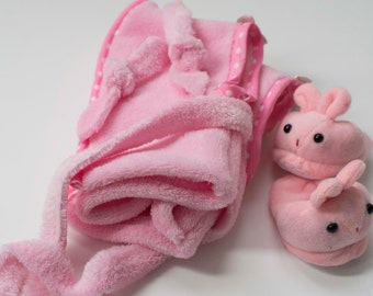 """Doll clothing """"Baby out of the bath"""""""