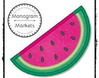 Watermelon Applique File