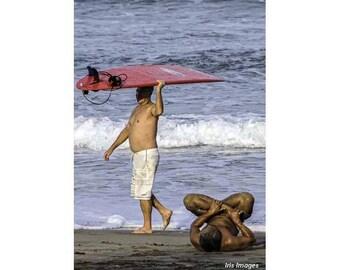 Surfer and Yogi CARD