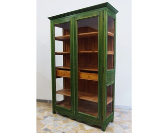 Green Shaped Bookcase