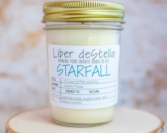 Starfall - A Court of Mist and Fury Inspired Candle - Book Candle - Book Gift - Book Lover - Bookish