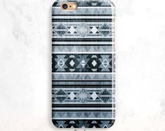 iPhone 8 Case, Blue Tribal iPhone 6S Case, iPhone SE Case,Geometric iPhone 7, iPhone 6 Plus,iPhone 6 Case,Wood iPhone X case, iPhone 7 Plus
