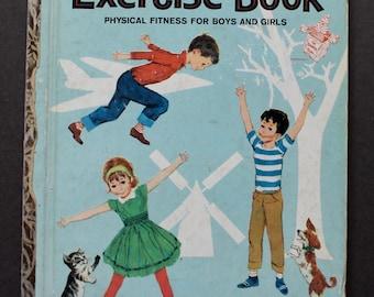 Vintage Little Golden Book - No.527 Exercise Book 1964 1st edition