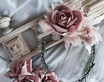 Romarinie Floral Crown
