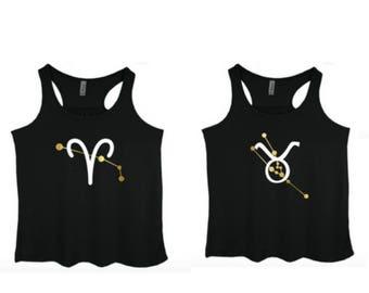 Zodiac Horoscope Hippie Clothes Constellation Aries Taurus Gemini Cancer Leo Virgo Libra Scorpio Sagittarius Capricorn Aquarius Pisces