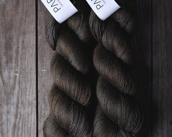 Hand Dyed Papiput Silky Merino Lace yarn - Gong