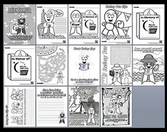 Relay For Life Coloring Book