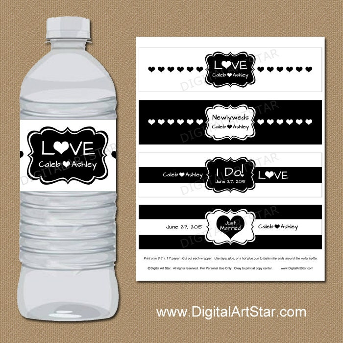 Best Bottle Wrapper Template Pictures Bottle Label Template Daway - Bachelorette water bottle label template