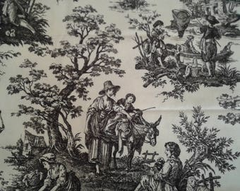 Waverly Country Life Toile - Linen Cotton - 2 yards