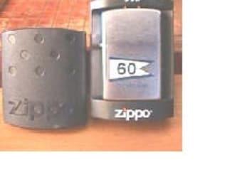 Zippo lighter of Desron 60 - U S Navy issue - Great tobacco item for a tobacconist  - Estate find!
