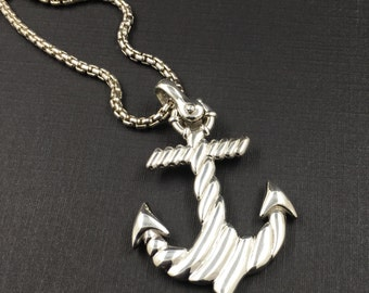 The Anchor  by Sal Knight, 925 solid sterling silver, original design by Sal Knight ©