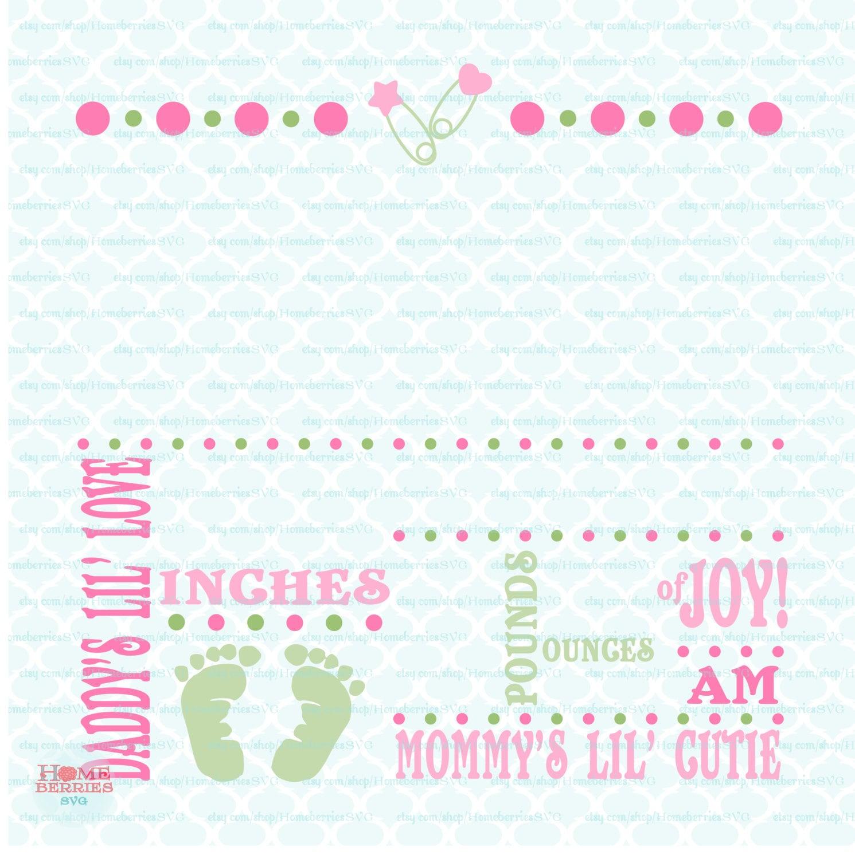birth announcements template