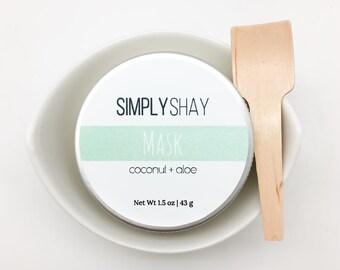 Coconut + Aloe Mask