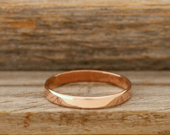 Polished Copper Band - 3mm