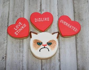 Grumpy Cat Buttercream Cookie Boxed Set
