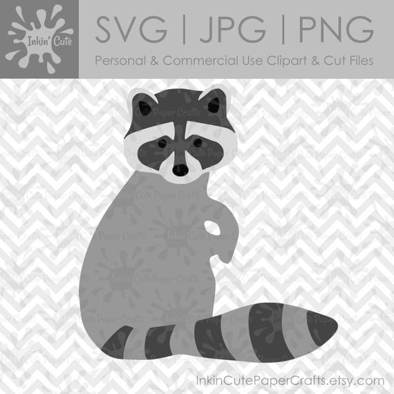 raccoon clipart raccoon svg file woodland animal clipart rh etsy com baby raccoon clipart raccoon clipart black and white