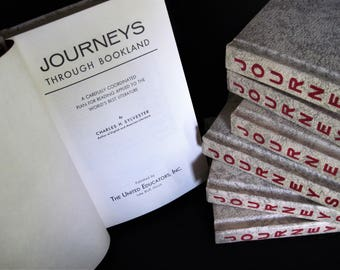 Journeys Books, Journey Books, Bookland Journeys, Childrens Books, Nursery Books, Nursery Decoration, Journeys Book Set, Journeys, Books