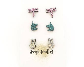 Earrings - Set of three (Limited Edition)