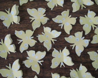 3D Paper Butterflies, confetti, paper punchies, party, paper craft, scrapbooking or card making