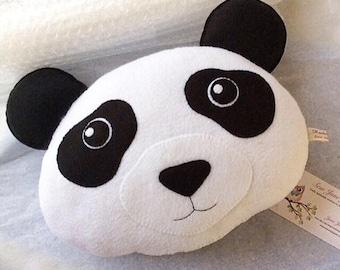 Panda Pillow PDF Pattern