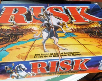 Vintage (c.1993) Risk Board Game - 100% COMPLETE - published by Hasbro and Parker Brothers.
