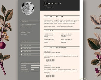 resume template and cover letter for word pages 3 page resume template fashion - Free Creative Resume Templates