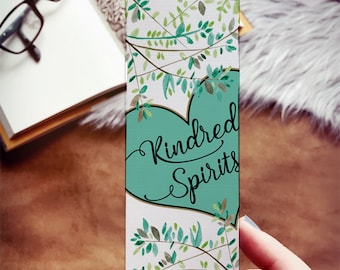 Kindred Spirits Bookmark, Anne of Green Gables Bookmark