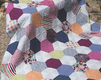 Delight quilt pattern from Jaybird Quilts