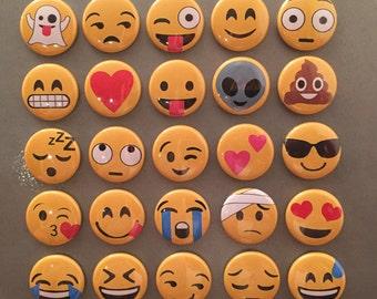 Emoji Magnets - set of 25!