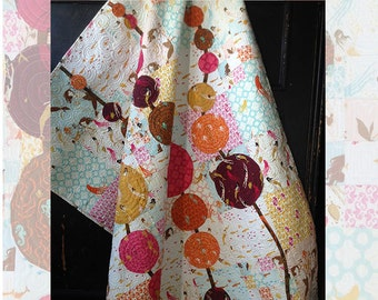 Beyond the Reef Natalie Barnes String of Pearls Mendocino Fabric Quilt Modern Pattern