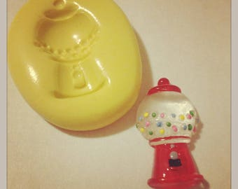 Candy Gumball Machine Silicone