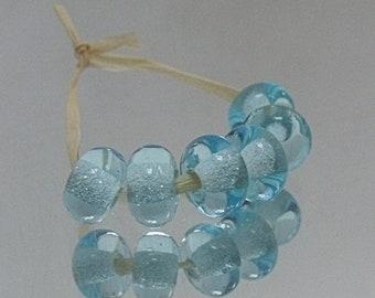 Spring Cloud, Artisan Lampwork Glass Beads, SRA, UK
