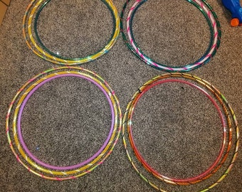 Beginner hoop package bundle deal pe, hdpe, polypro
