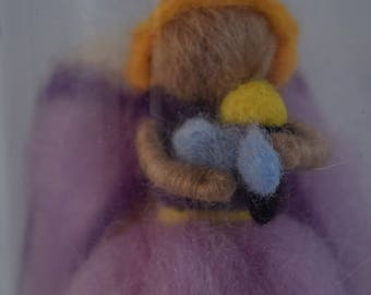 Felted Fairies and Friends - Beekeeper Fairy
